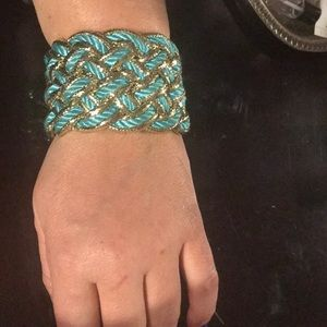 Turquoise & gold bracelet